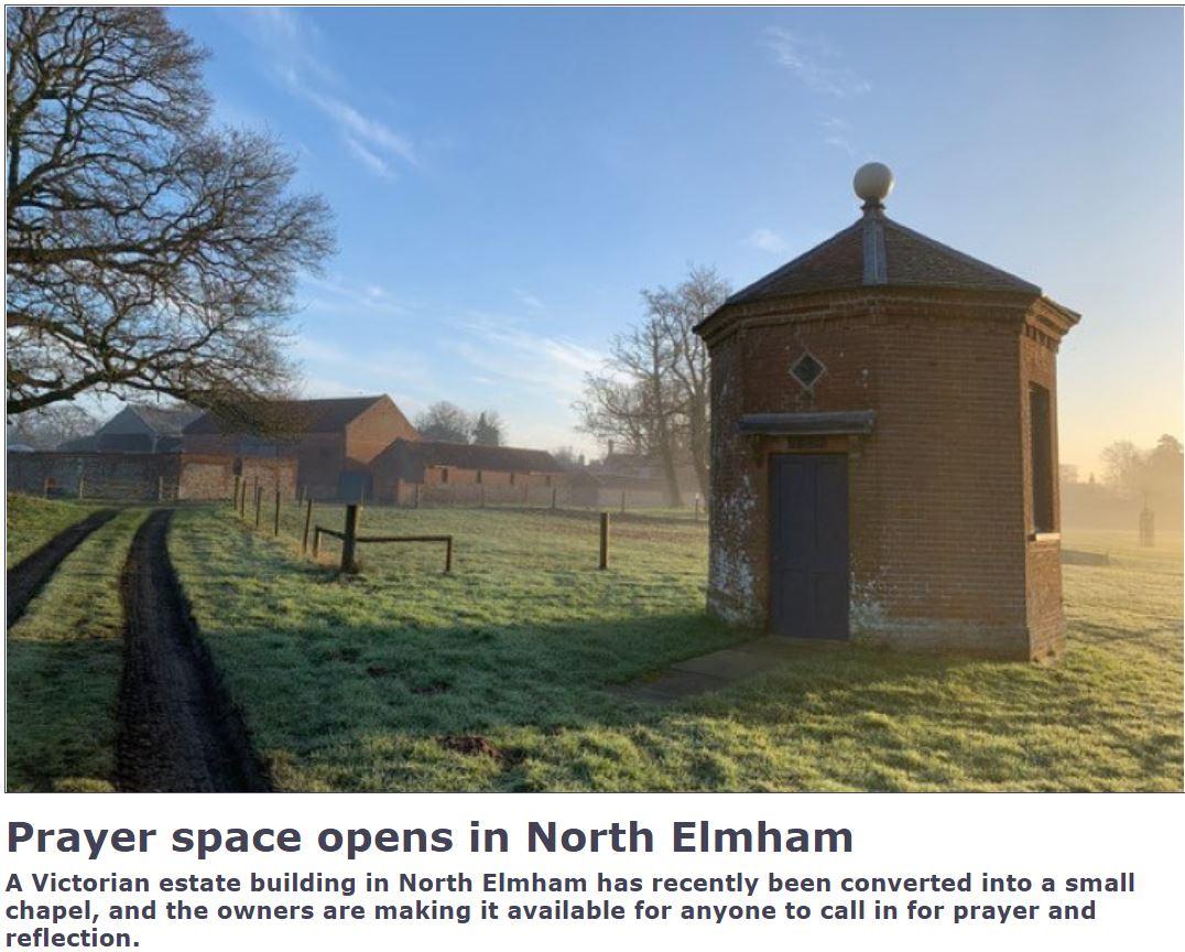 Prayer Space open in NorthElmham